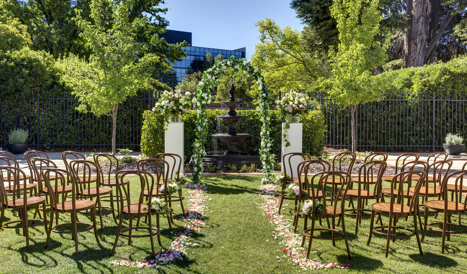 hotel kurrajong canberra wedding packages outdoor venue